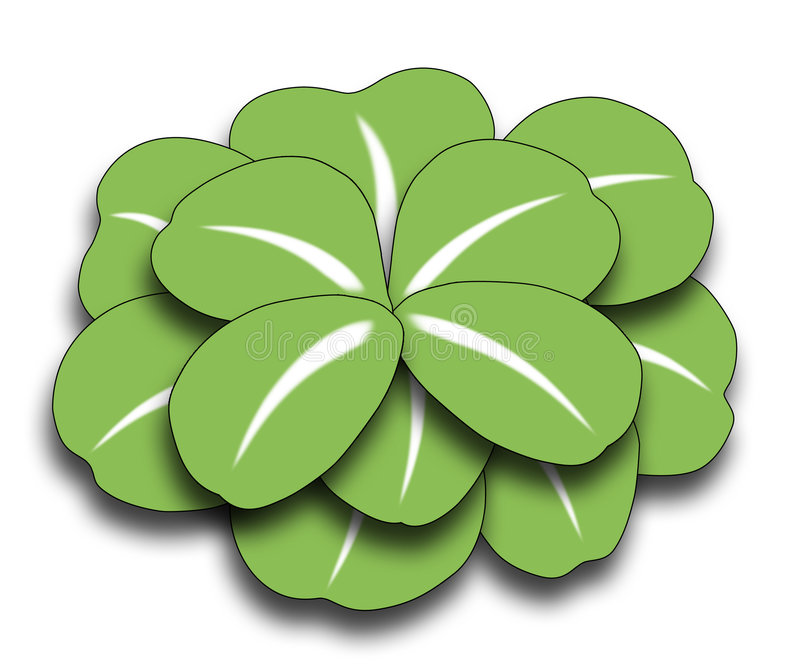 Download Four Leaf Clover Royalty Free Stock Photography - Image: 8893817