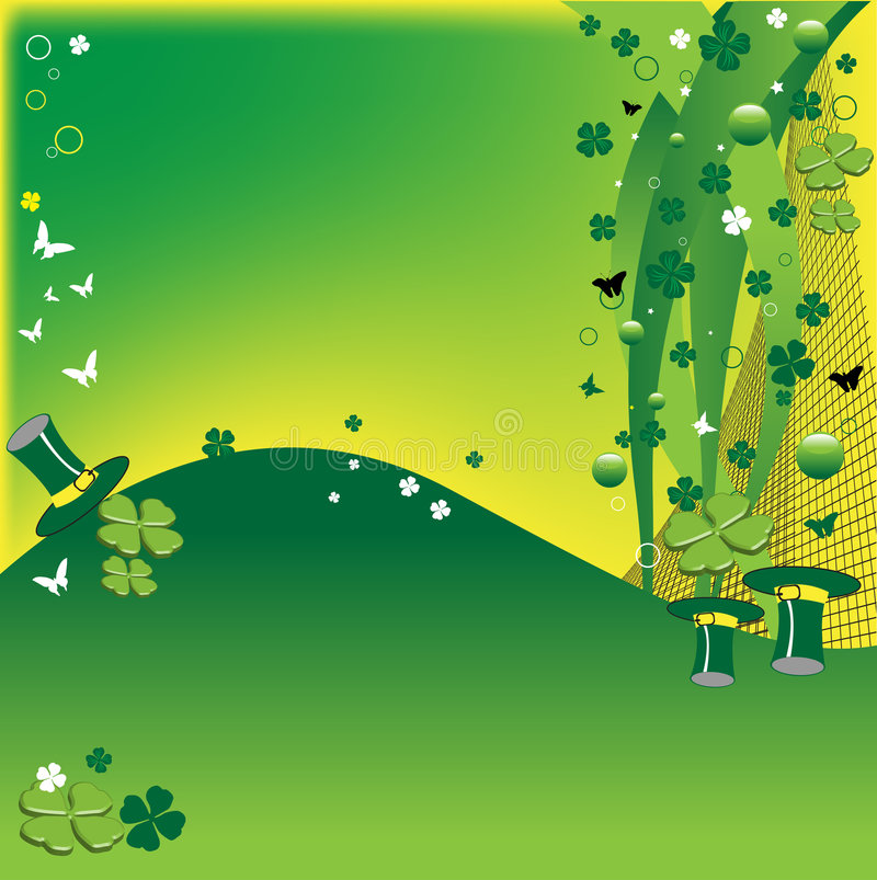 Four leaf clovers royalty free stock photo