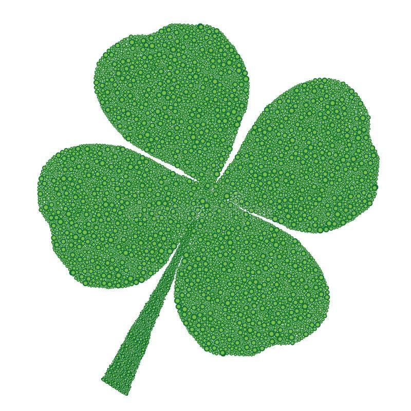 Download Four leaves clover stock illustration. Illustration of line - 12784222