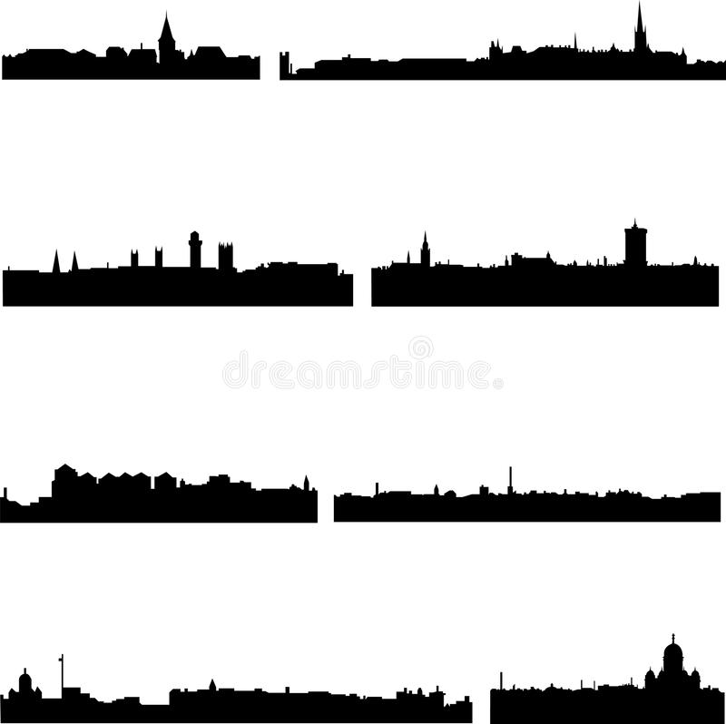 Download Four Nordic Countries Building Stock Vector - Image: 12559640