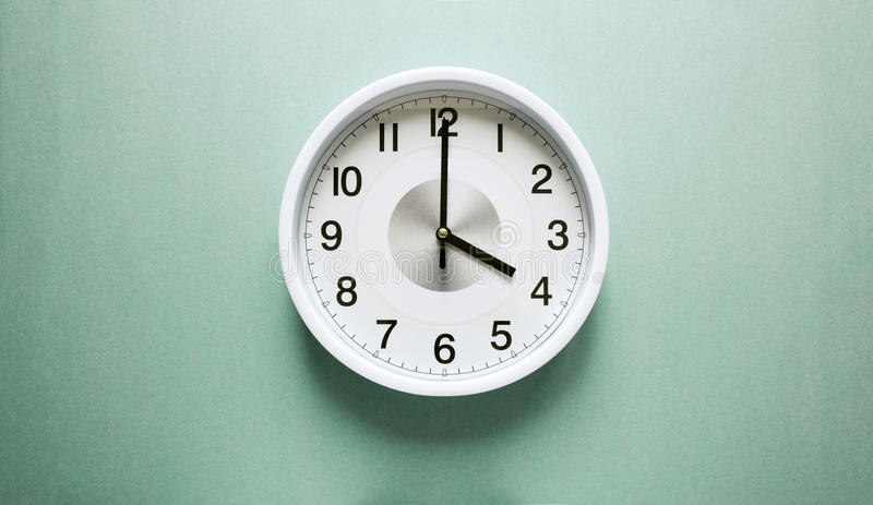 Four o`clock royalty free stock photography