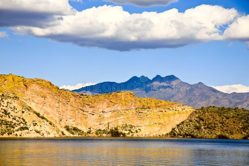 Download Four Peaks Mountain, Arizona, USA Stock Image - Image: 26651645