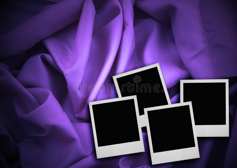 Download Four photo frames stock image. Image of album, crumpled - 2316753