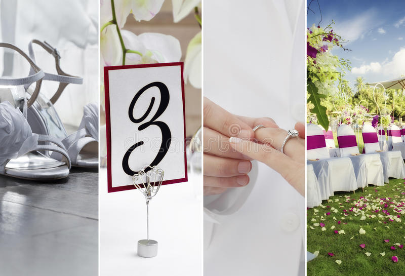 Four pics stock images