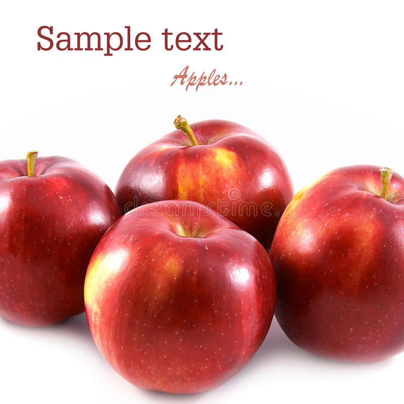 Free Four Ripe Apple Stock Images - 16080174