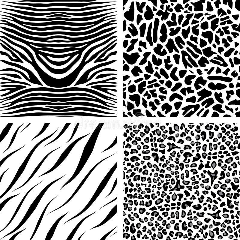 Free Four Seamless Patterns Stock Image - 14560531