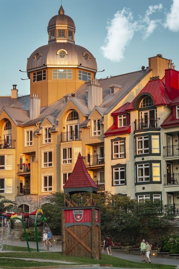 Mont Tremblant Resort Quebec stock photos