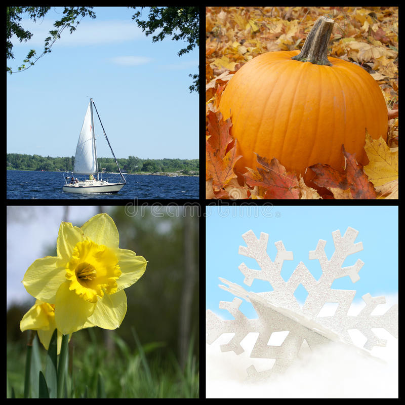 Four Seasons στοκ φωτογραφία