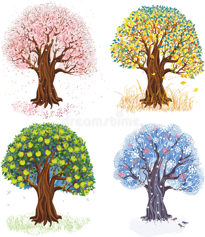 Free Four Seasons Stock Photo - 41843020