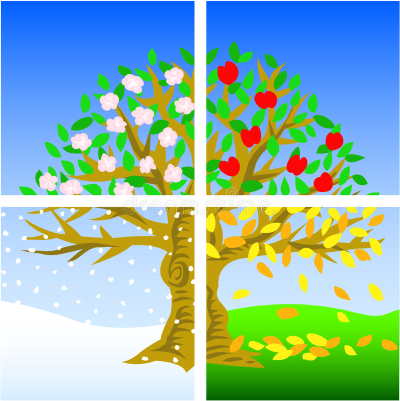 Seasons Stock Illustrations – 51,484 Seasons Stock Illustrations, Vectors &  Clipart - Dreamstime