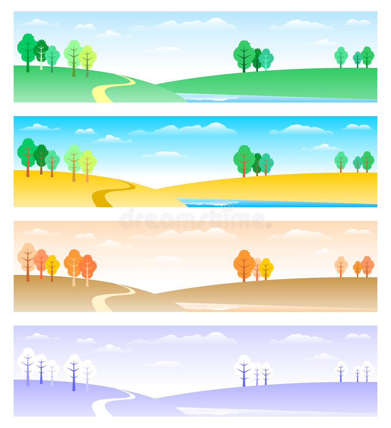Download Four Seasons Stock Images - Image: 8611534