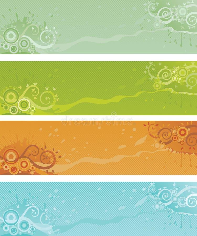 Download Four seasons stock vector. Image of design, drop, flowers - 37067150