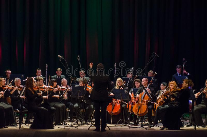 FOUR SEASONS Chamber Orchestra stock image