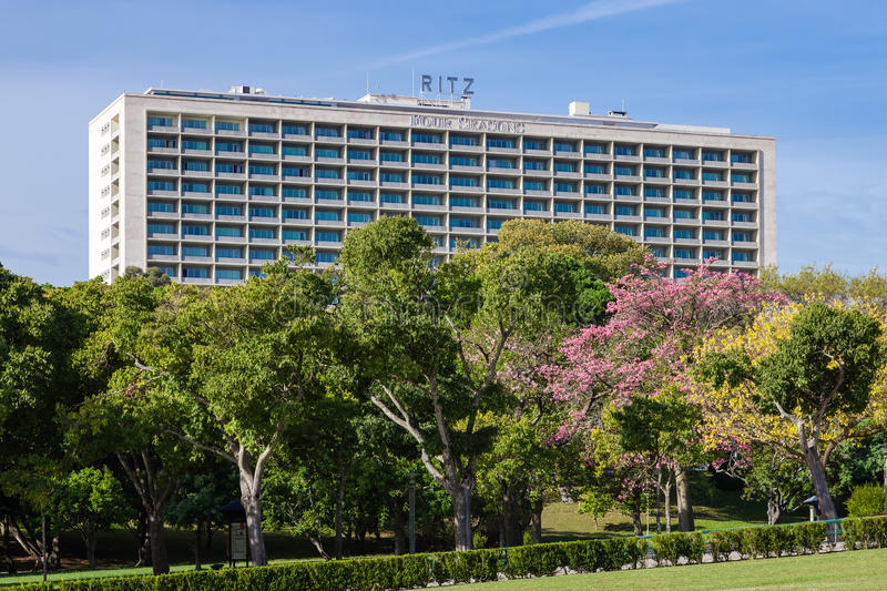 The Four Seasons Hotel Ritz. stock photo