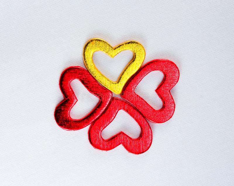 Download Four Shiny Heart Royalty Free Stock Photo - Image: 23071955