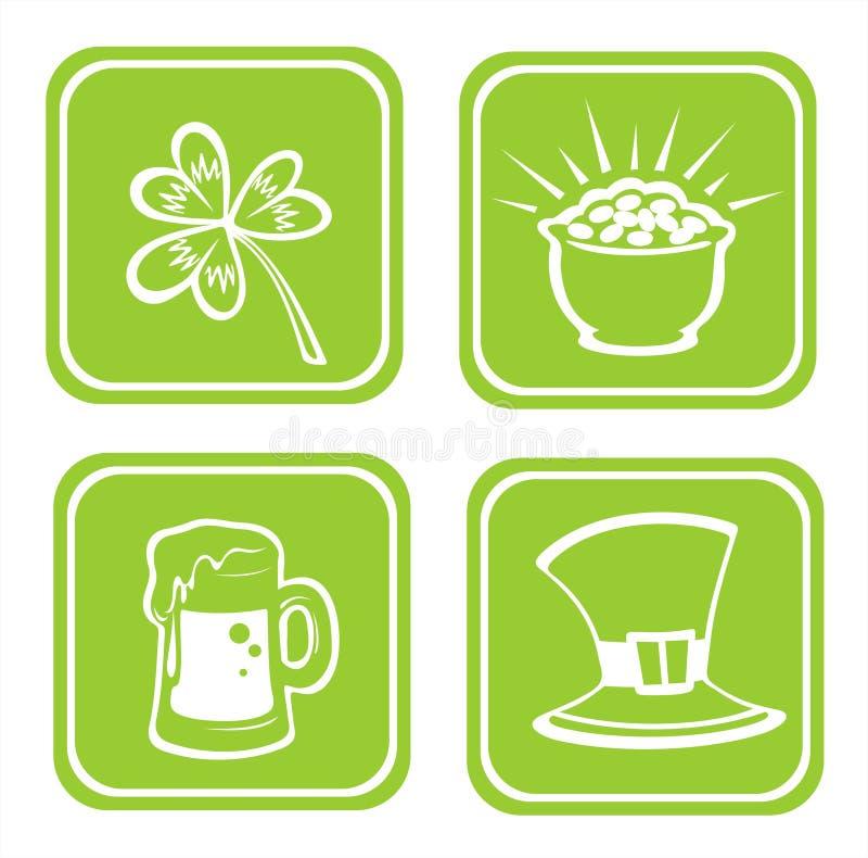 Download Four St.Patrick's Day Symbols Stock Illustration - Image: 4382098