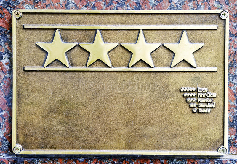 Download Four Stars First Class Hotel Stock Photo - Image: 34730504