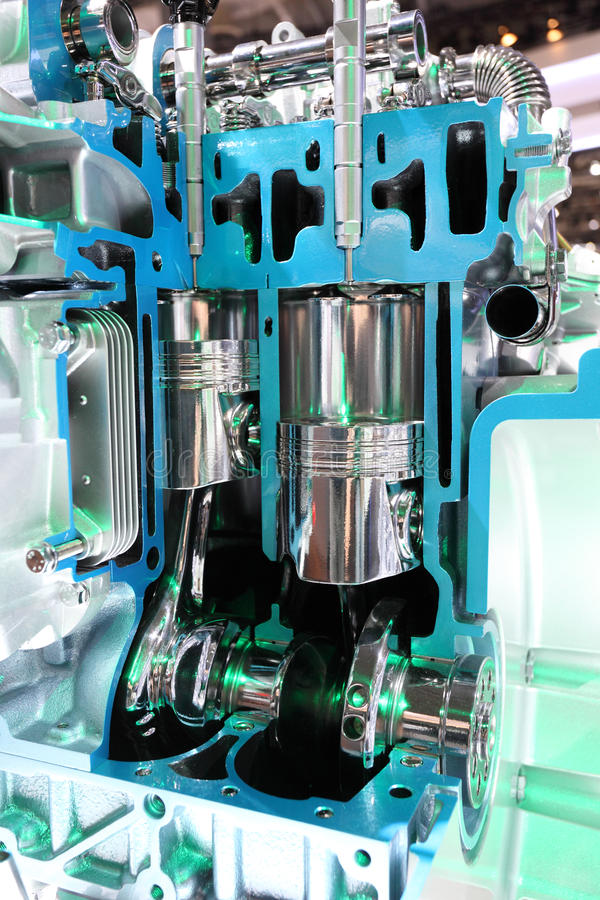Download Four Stroke Automobile Engine Stock Photo - Image: 26866622
