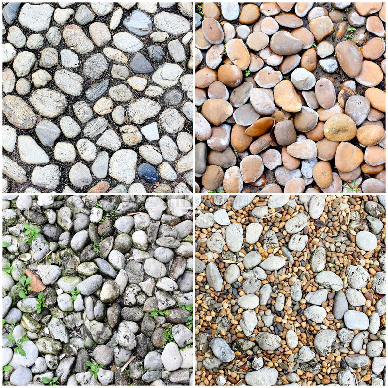 Four styles of rough stone background. The four styles of rough stone background stock image