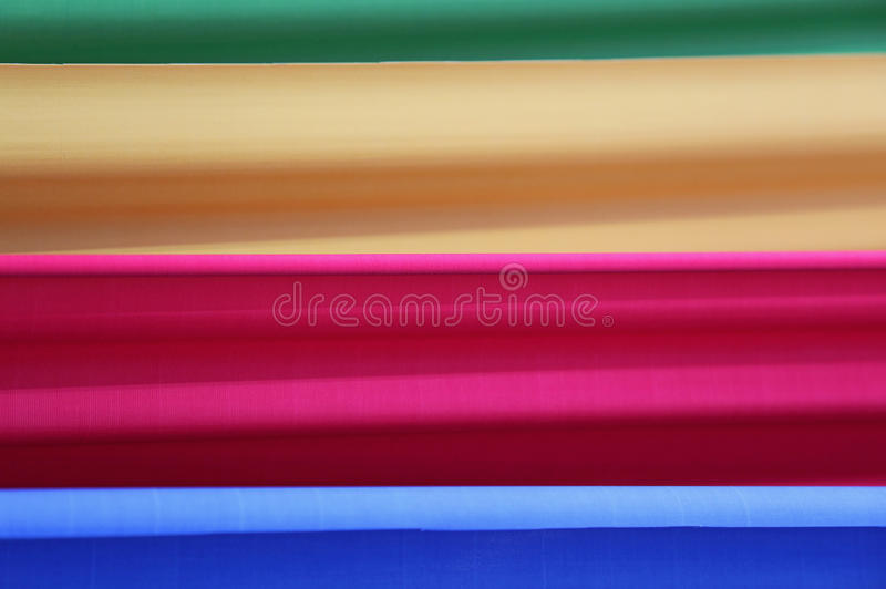 Four vibrant colors as background stock photography