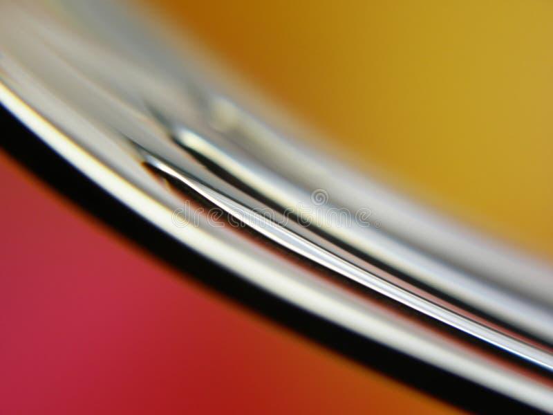 Fourchette argentée photographie stock libre de droits