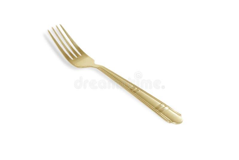 Fourchette d'or images libres de droits