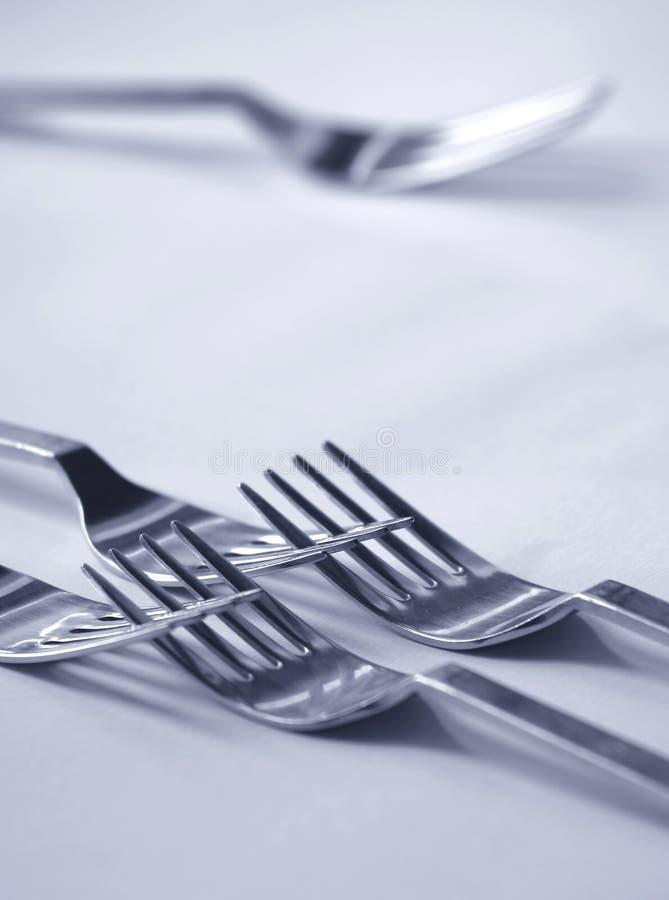 Fourchette rejetée image libre de droits
