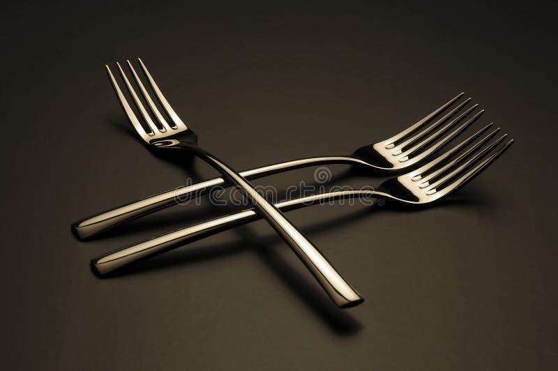 Fourchettes images libres de droits