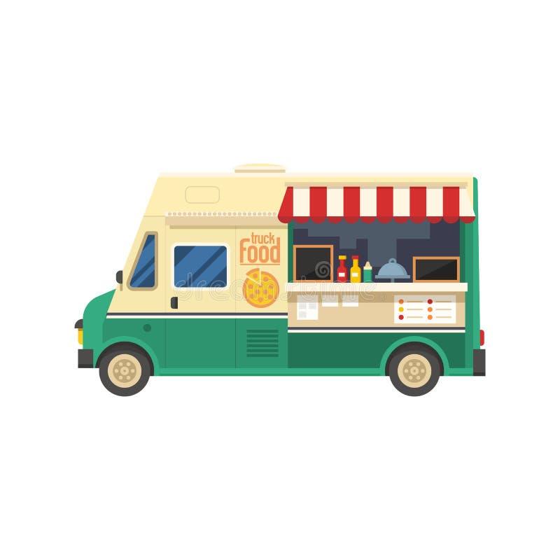 Fourgon de nourriture de rue illustration libre de droits