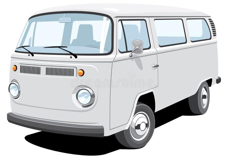 Fourgon de passager et de cargaison illustration libre de droits