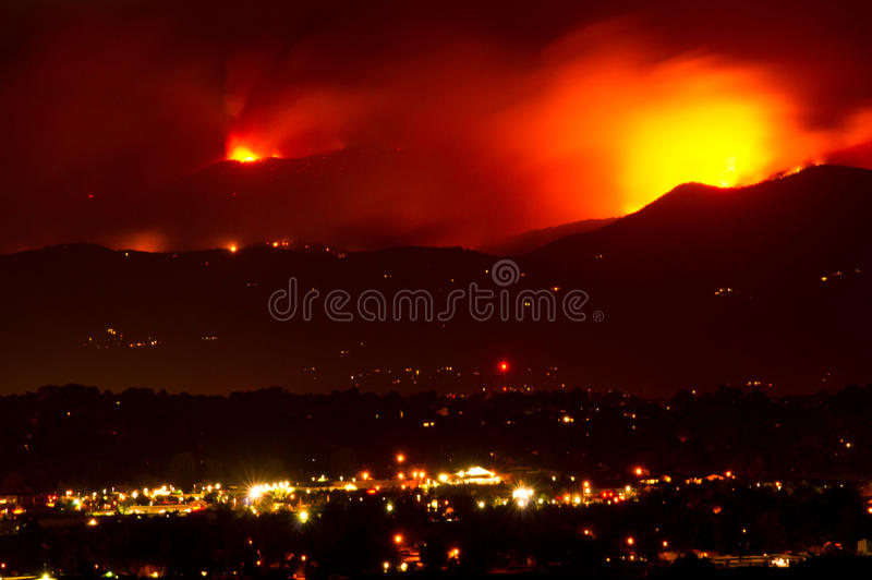 Download Fourmile Canyon Wildfire Rages Editorial Stock Photo - Image: 15977148