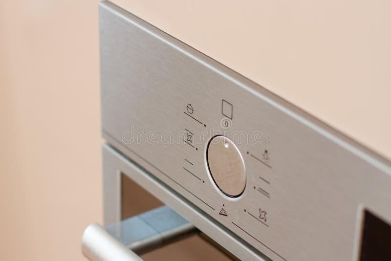 Fourneau électrique de tableau de bord de contrôle de four électrique photo libre de droits