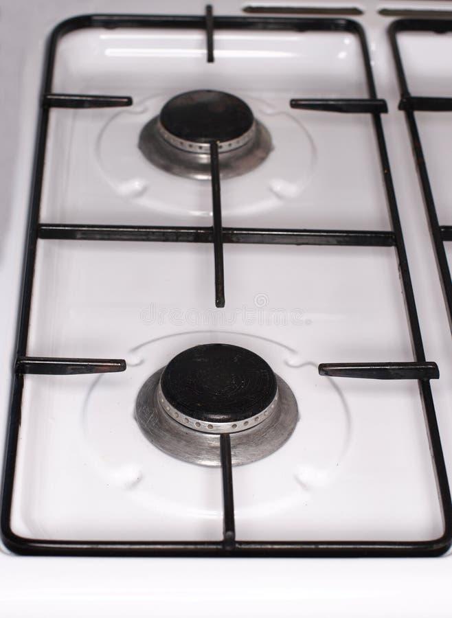 Fourneau Oven Top Detail image libre de droits