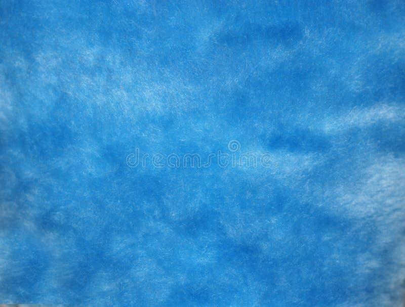 Fourrure artificielle bleue images stock