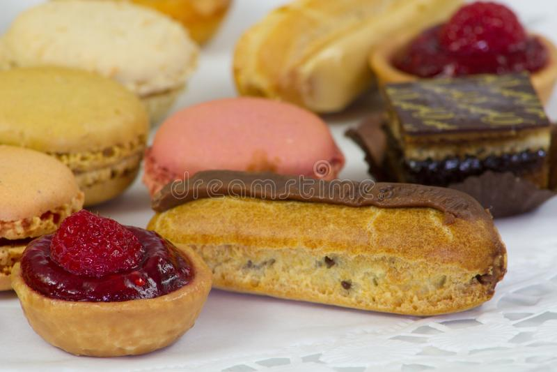 Fours dulces de los petits fotografía de archivo libre de regalías