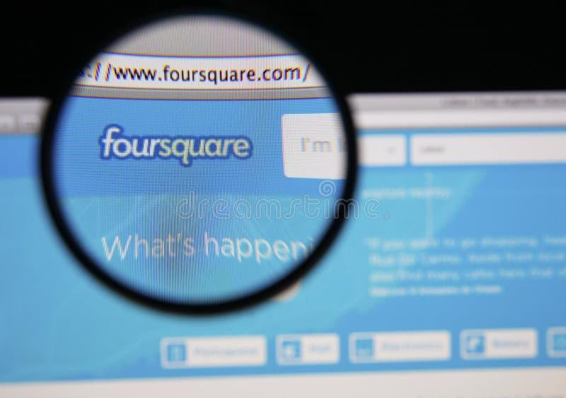 Foursquare arkivfoton