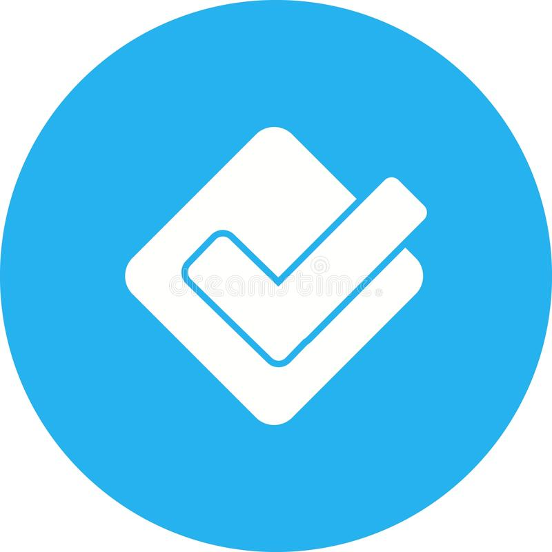 foursquare διανυσματική απεικόνιση
