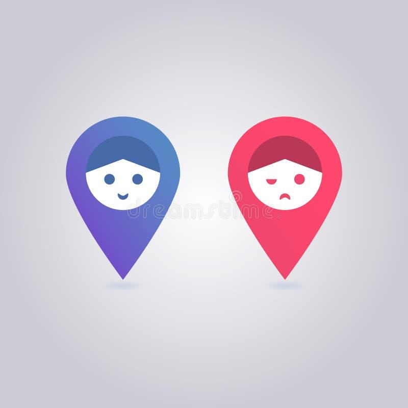 Foursquare controle binnen royalty-vrije stock foto's