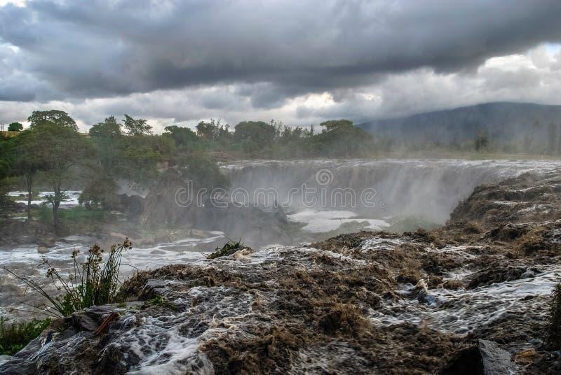 Fourteen Falls Thika Kenya Africa. Fourteen Falls Waterfall Thika Kenya Africa royalty free stock photography