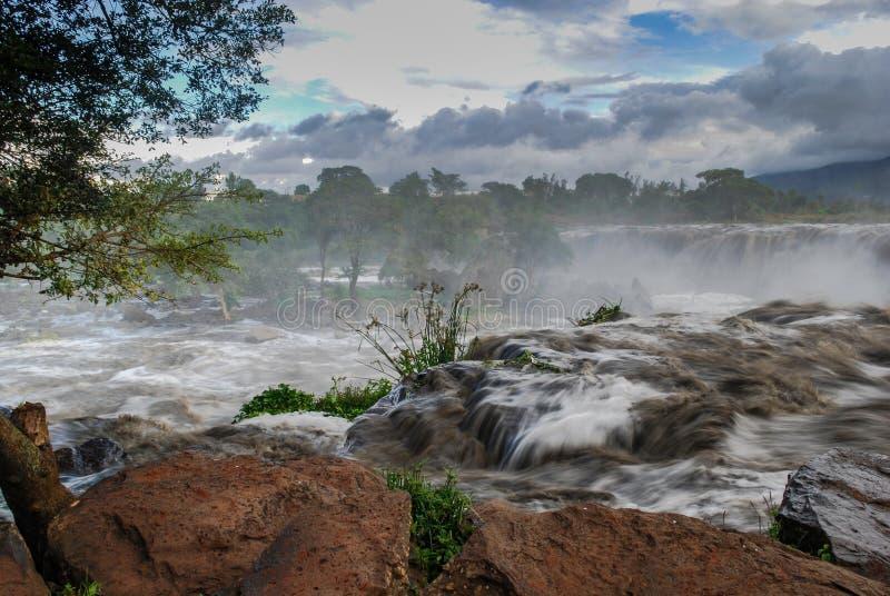 Fourteen Falls Thika Kenya Africa. Fourteen Falls Waterfall Thika Kenya Africa stock photos