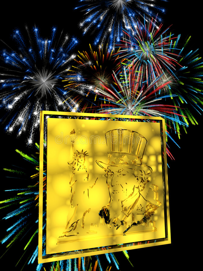 Download Fourth Of Of July. Stock Photo - Image: 605400