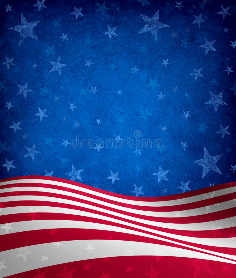 Fourth Of July Background vector illustration