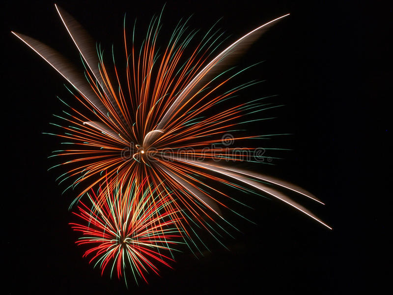 Fourth of July Firework royalty free stock images