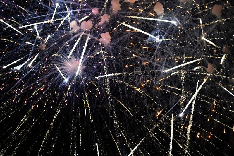 Fourth of July – Fireworks stock image