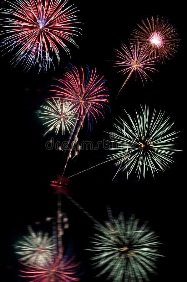 Download Fourth of July fireworks stock image. Image of celebrate - 25758849