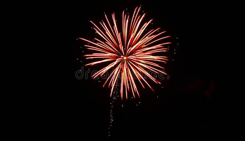 Fourth of July Fireworks royalty free stock photo