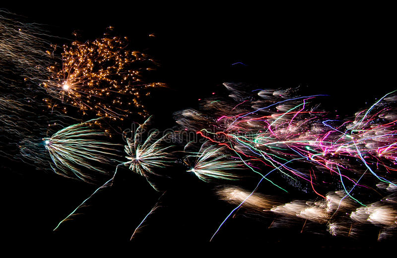 Download Fourth of July Fireworks stock image. Image of fireworks - 32060165
