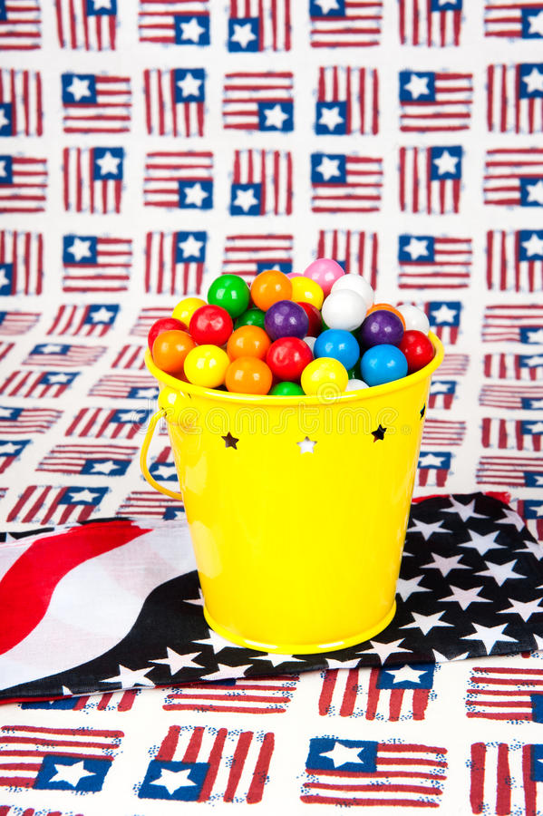 Download Fourth of July Gumballs stock photo. Image of decorative - 19920438