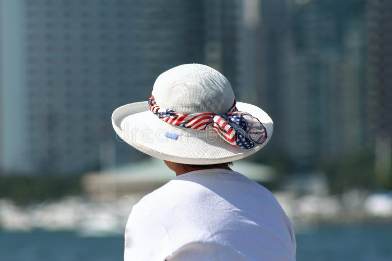 Download Fourth of July Outting stock photo. Image of tourist, lady - 947134