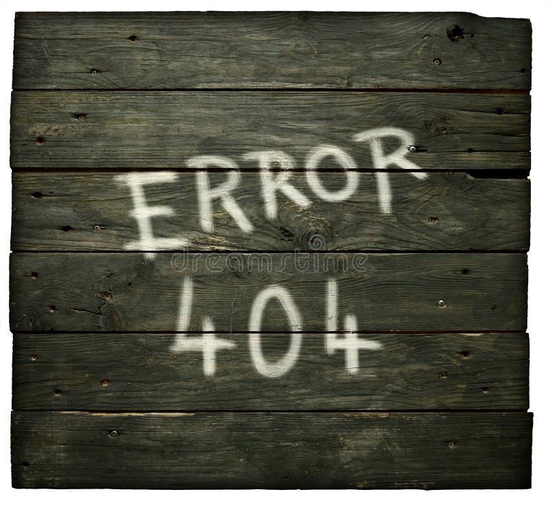 Fout 404 royalty-vrije stock foto